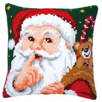 Santa Chunky Cross Stitch Kit