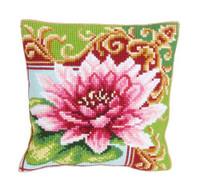 Luxurious Lily 2 Chunky Cross Stitch Cushion Kit