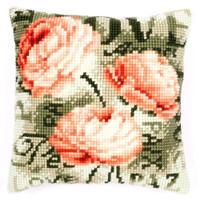 Rose Text 1 Chunky Cross Stitch Kit