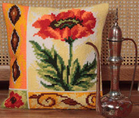 Coquelicot Vaillant Chunky Cross Stitch Kit