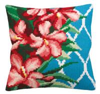 Hibiscus Chunky Cross Stitch Kit