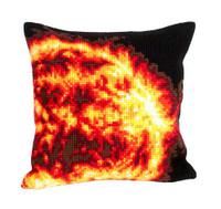Sun Chunky Cross Stitch Cushion Kit