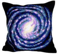 Vortex Chunky Cross Stitch Cushion Kit