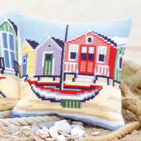 Boat By The Sea Vervaco Chunky Cushion Kit