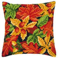 Leaf Chunky Cross Stitch Kit