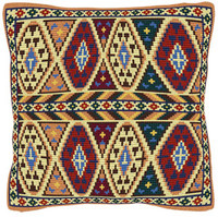 Inca Chunky Cross Stitch Cushion Kit