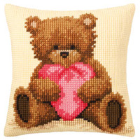 Popcorn Cross Stitch Cushion Kit
