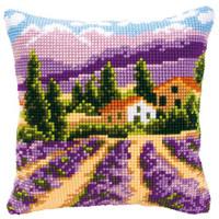 Lavender Field Chunky Cross Stitch Kit