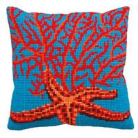 Etoile Et Corail Rouge Chunky Cross Stitch Kit