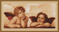 Cherubs Petit Point Petit Cross Stitch Kit By Luca S