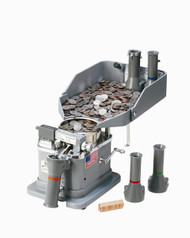 Klopp CM Manual Coin Counter / Wrapper / Bagger