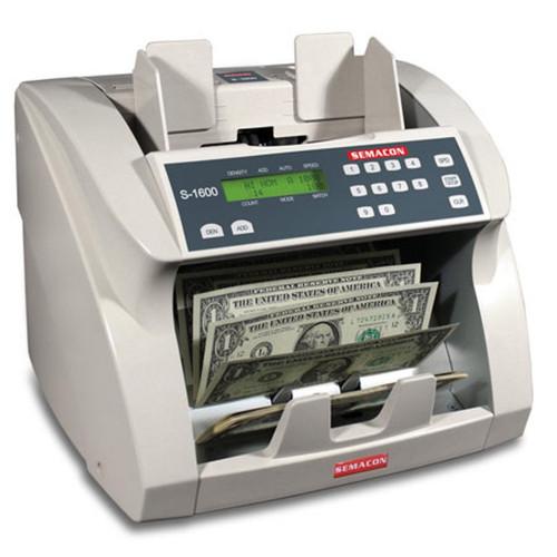 Semacon S-1600V Premium Bank Grade Currency Value Counter