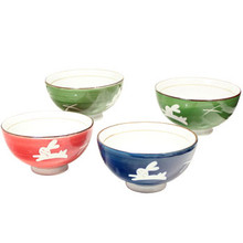 Rabbit Rice Bowls 4.25'  From AFG