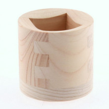 Sake Cup - Wood 1 oz  From Kotobuki