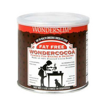 100% Cocoa Powder, FF, 12 of 6 OZ, Wonderslim