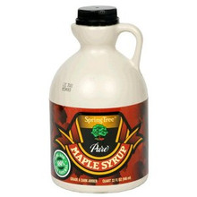 B Maple Syrup, 32 OZ, Spring Tree