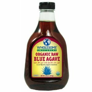 Raw Blue Agave, Amber, 6 of 44 OZ, Wholesome Sweeteners