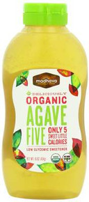 Agave Five, 5 Calorie Sweetner, 6 of 16 OZ, Madhava