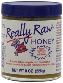 Honey, Raw Unheated, Unstrained, 8 OZ, Really Raw Honey
