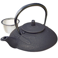 Tetsubin Iron Teapot - Black Dragonfly  From Kotobuki
