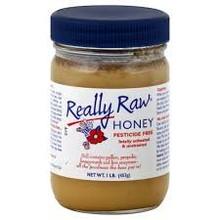 Honey, Raw Unheated, Unstrained, 16 OZ, Really Raw Honey