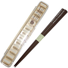 Petit Copain Brown Chopstick & Case  From Ditto
