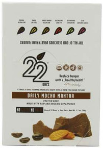 Daily Mocha Mantra, 12 of 1.7 OZ, 22 Days Nutrition