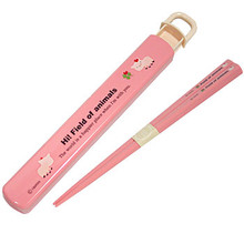 Friend Pig Chopstick & Case  From Ditto