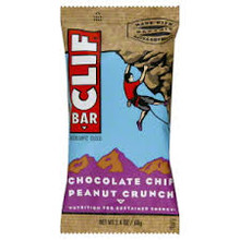 Chocolate Chip Peanut Crunch, 12 of 2.4 OZ, Clif Bars