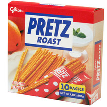 Roasted Pretz Party Size 6.8 oz  From Glico