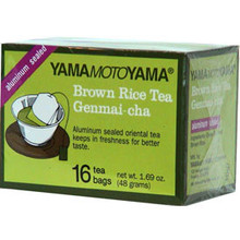 Genmai-cha Tea Bags 1.1 oz  From Yama MotoYama