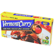 Vermont Curry Hot 8.8 oz  From House Foods