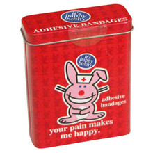 Happy Bunny Bandages  From Boston America