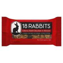 Cherry Dark Chocolate & Almond, 12 of 1.6 OZ, 18 Rabbits