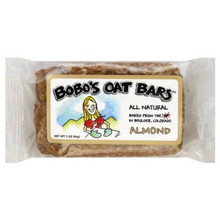 Almond, 12 of 3 OZ, Bobo'S Oat Bars