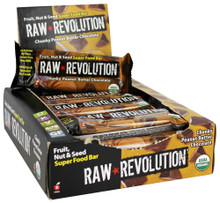 Chunky Peanut Butter Chocolate, 12 of 1.6 OZ, Raw Revolution