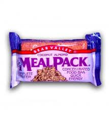 Mealpack Coconut Almond Bar, 12 of 3.75 OZ, Bear Valley