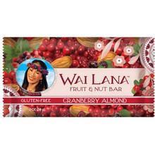 Cranberry Almond, 12 of 2 OZ, Wai Lana