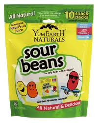 Beans, Family Size, 12 of 10 of 0.7Z, Yummy Earth