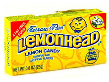 Candy , 24 of 0.8 OZ, Lemonhead