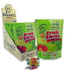 Assorted Fruit Chews, 6 of 3.5 OZ, Go Organic
