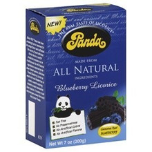 Blueberry, Box, 12 of 7 OZ, Panda Licorice