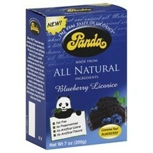 Blueberry, Box, 12 of 7 OZ, Panda Licorice
