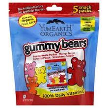 Gummy Bears, 12 of 5 of 0.7 OZ, Yummy Earth