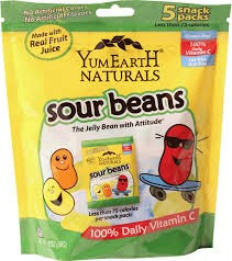 Sour Jelly Beans, 12 of 5 of 0.7 OZ, Yummy Earth