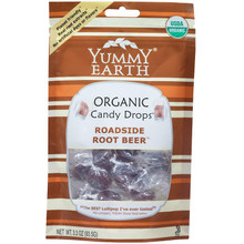 Roadside Root Beer/Stand Up Pouch, 6 of 3.3 OZ, Yummy Earth
