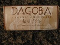 59% Cacao, 12 of 2 OZ, Dagoba Organic Chocolate