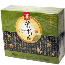 Jasmine Tea 100 Bags 7.05 oz  From Qiandao Yuye