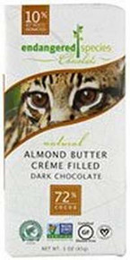 Ocelot,Dk Choc,Almond Butter, 12 of 3 OZ, Endangered Species
