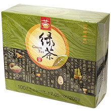Green Tea 100 Bags 7.05 oz  From Qiandao Yuye